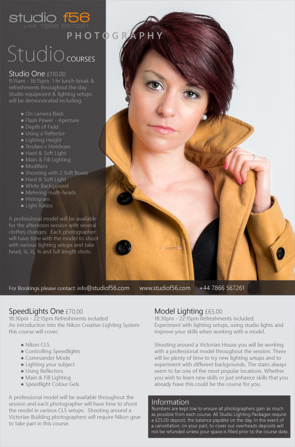 studio lighting courses